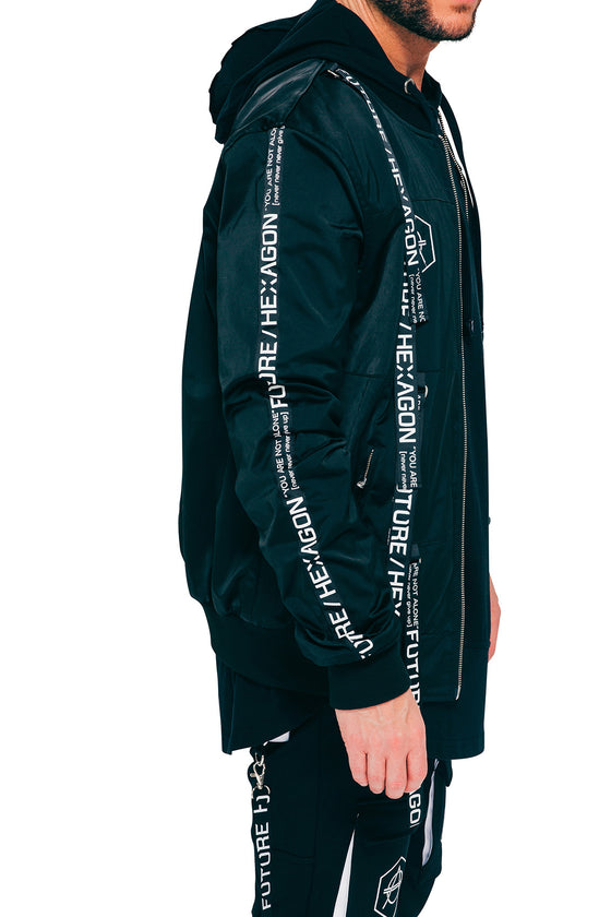 Reversible Taped jacket