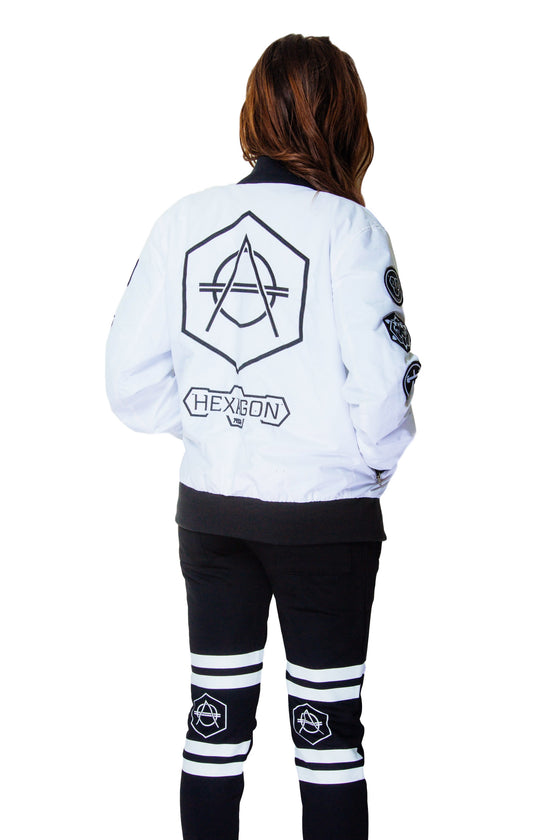 White Patch Jacket