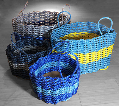 Maine Rope Baskets - Medium - Custom Cordage