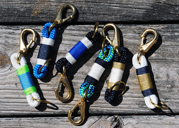 Maine Rope Key Chains - Custom Cordage
