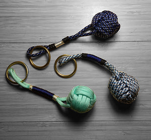 Monkey Fist Key Chain - Custom Cordage