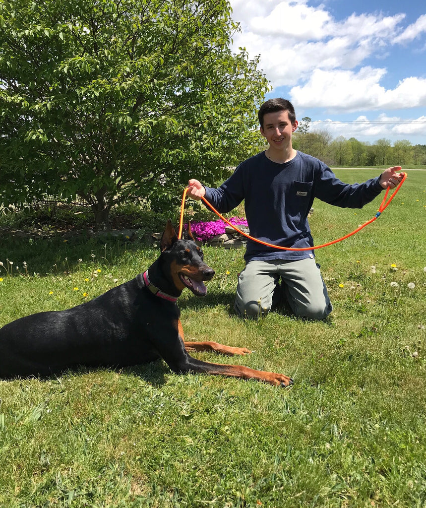 Maine Rope Dog Leashes - Custom Cordage