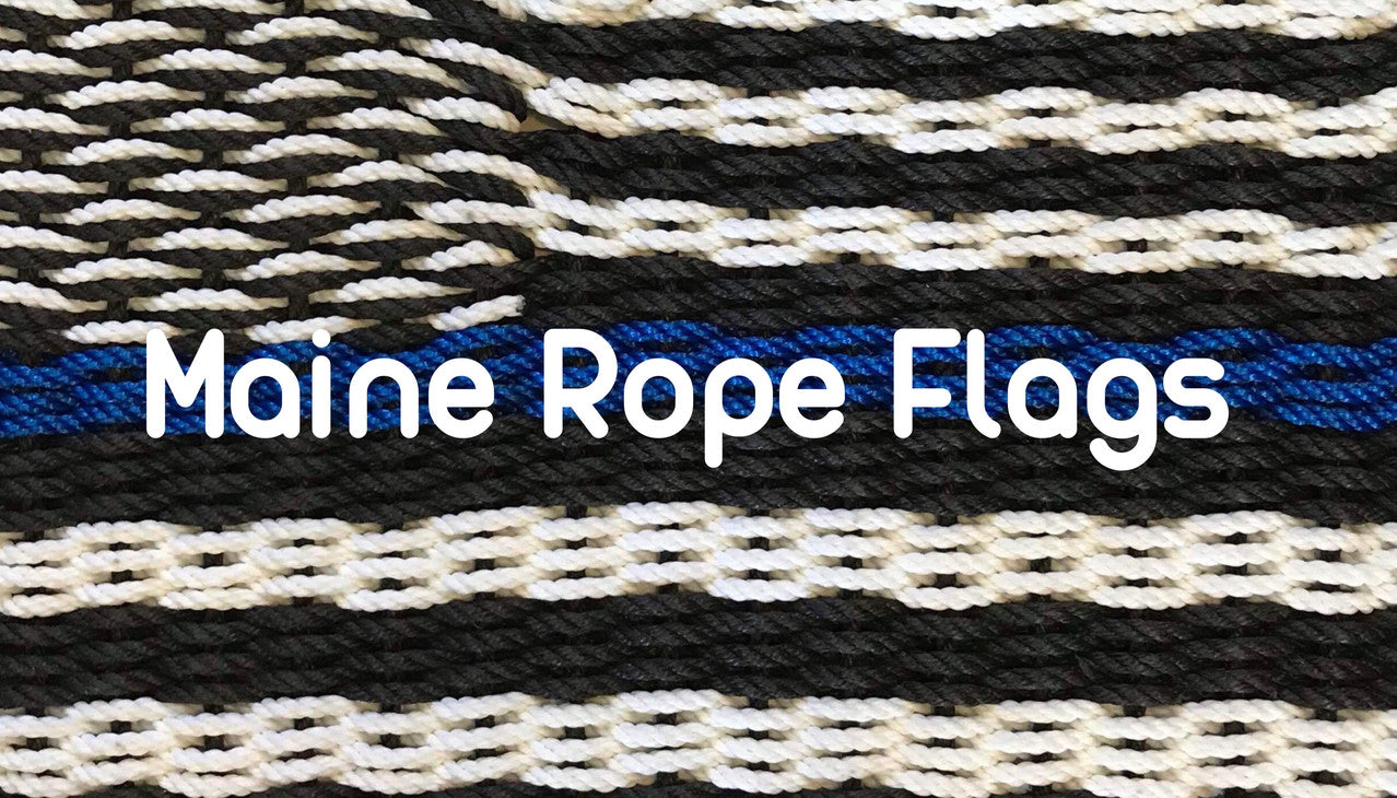 Maine Rope Flags