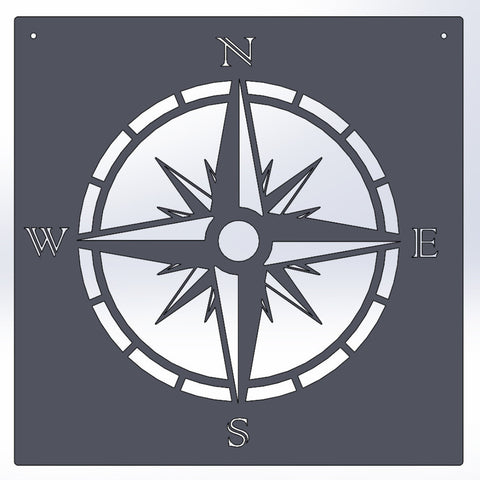 Image Board Compass Rose