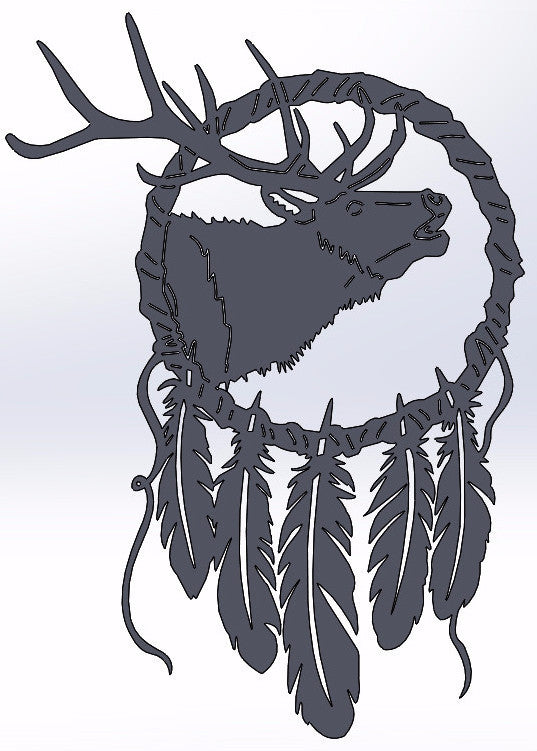 Elk Dream Catcher