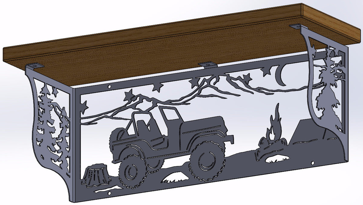 Jeep Shelf
