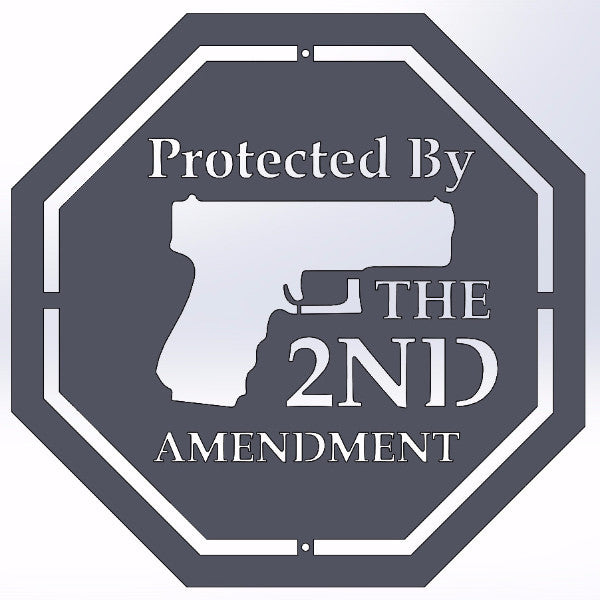 Protected By The 2nd Amendment