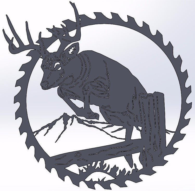 Deer Jumping Circular Saw Blade