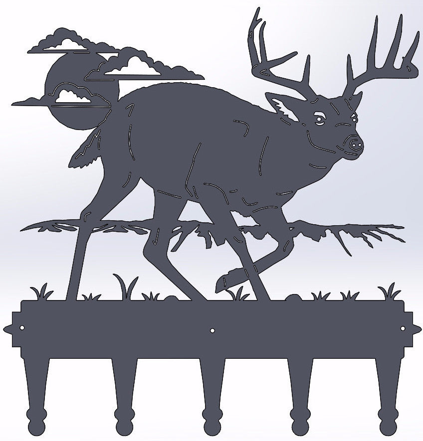 Deer Coat Hanger