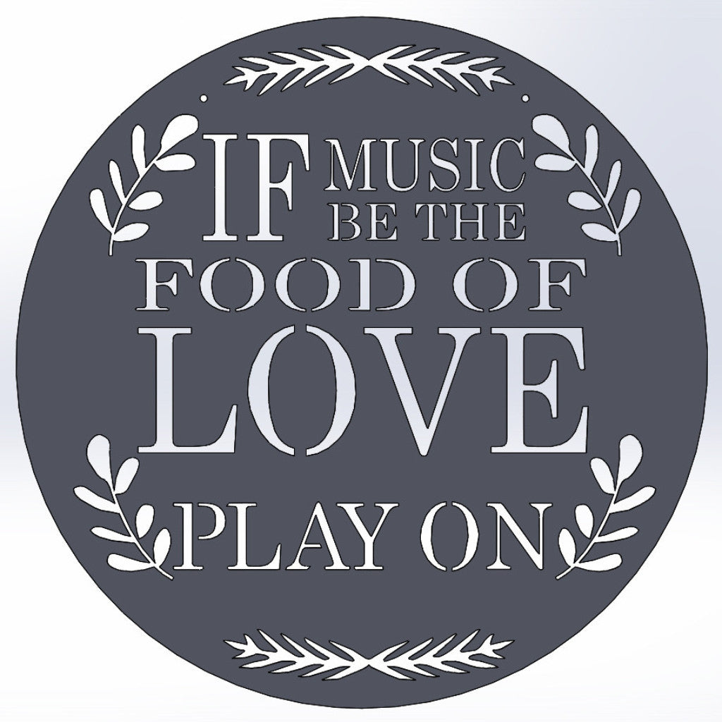 Image result for if music be the food of love play on