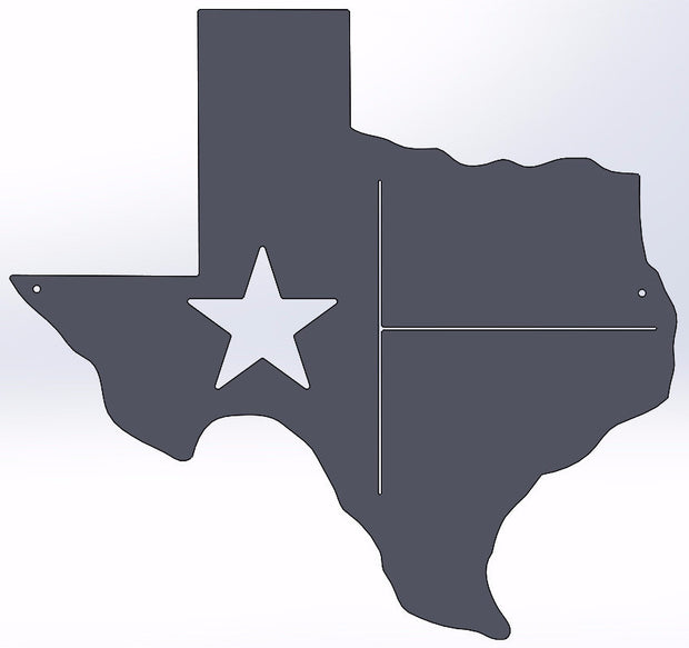 Texas Detailed State