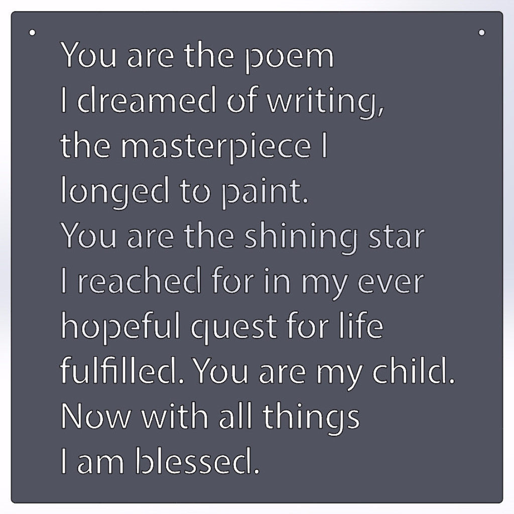 You Are The Poem