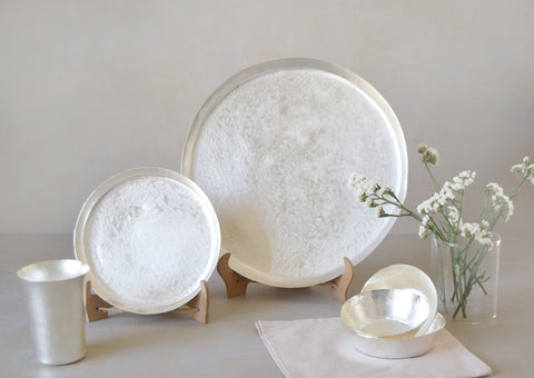 Luxe Silver Dinner Set