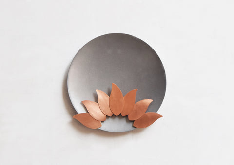 Sunflower Wall Disc