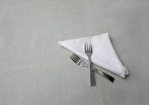 Beaten Steel Dinner Fork (Set of 2)