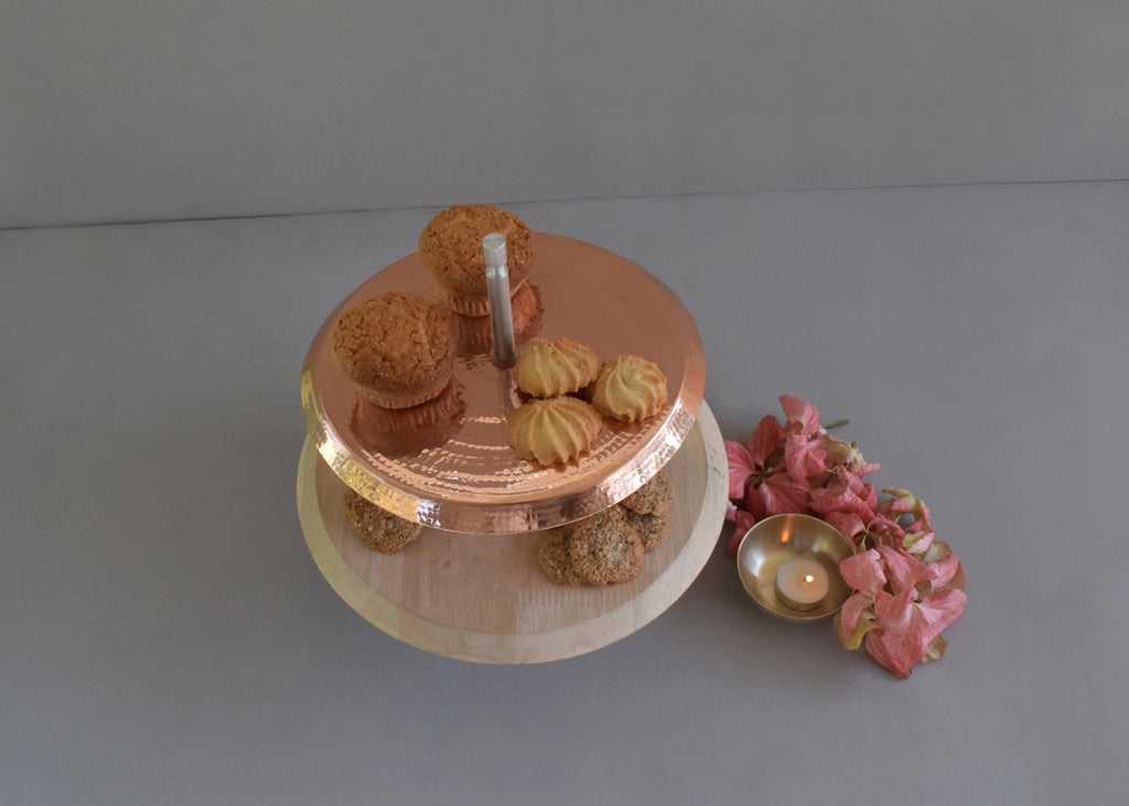 Two-tiered Dessert Stand