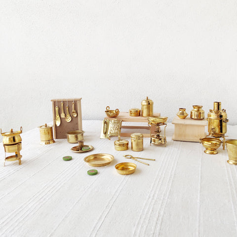 Brass Toys Bhatukli Set