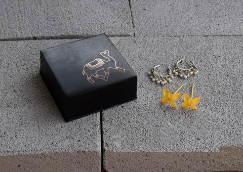 Bidri Miniature Box - Oonth