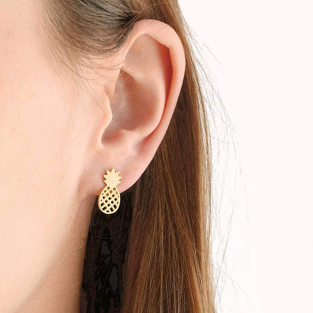 Boucles Pineapple - Or