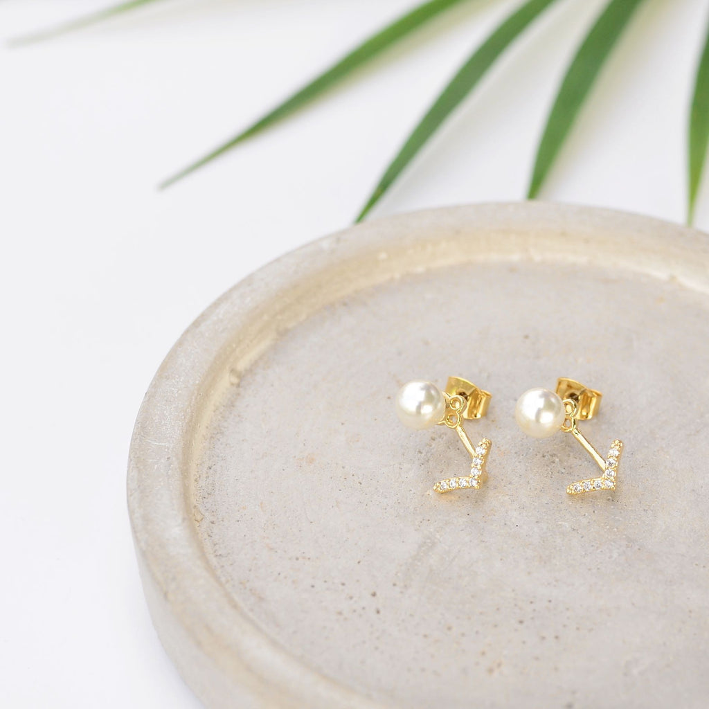 Victoria Gold Earrings