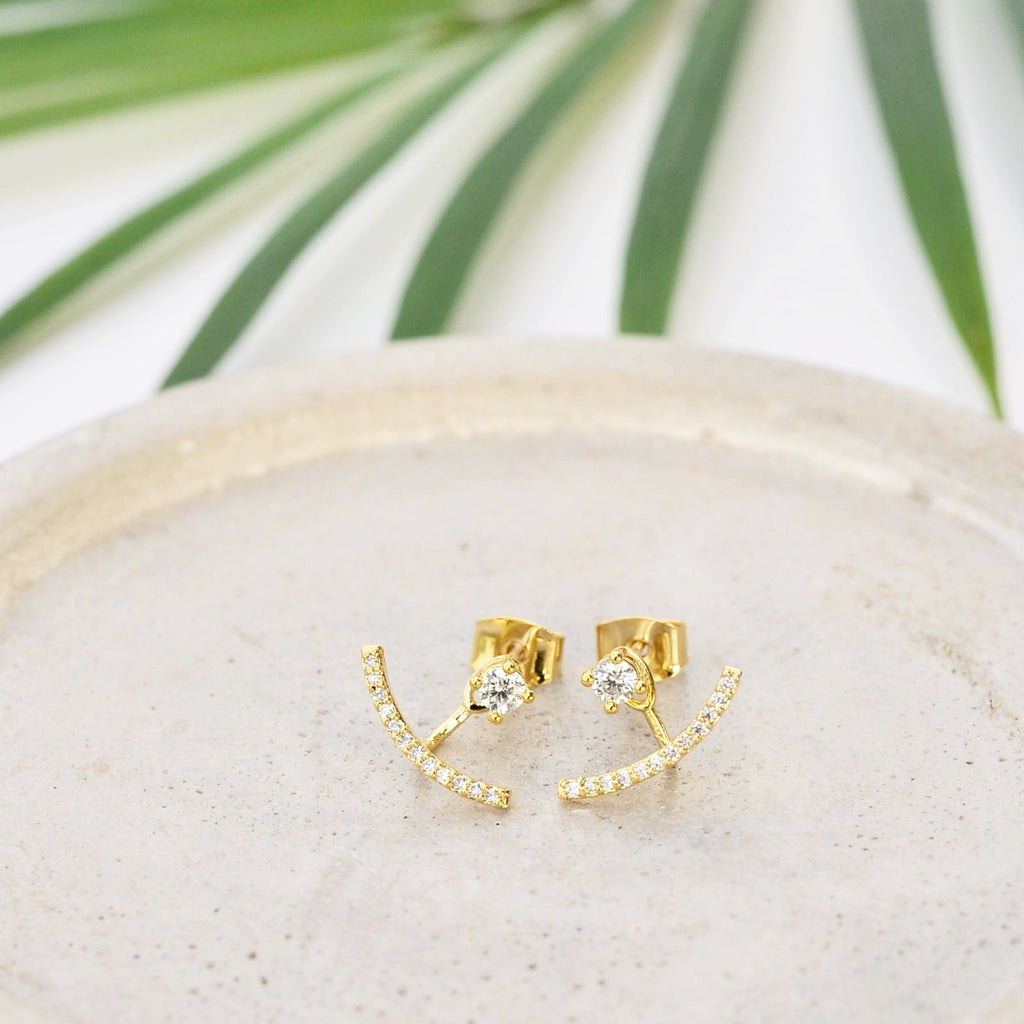 Lia Gold Earrings