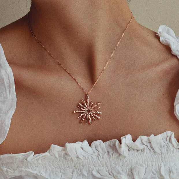 Collier Baca - Or Rose - Majolie