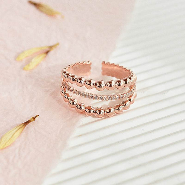 Bague Alila - Or Rose