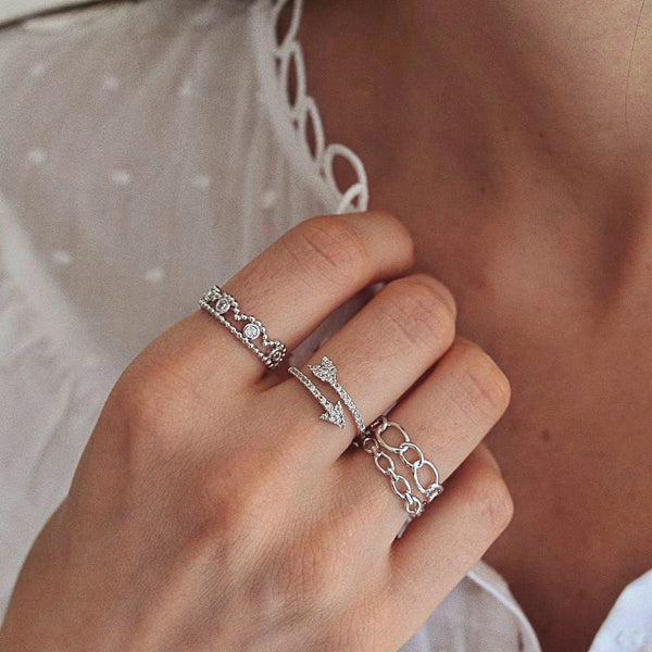 Bague Yva - Argent