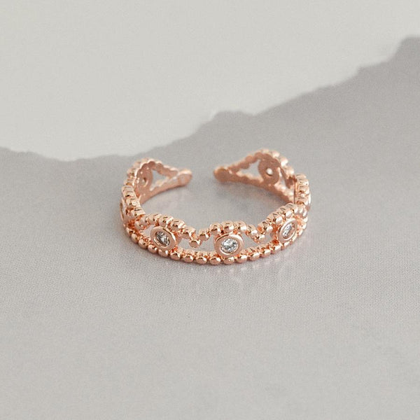Bague Ariana - Or Rose