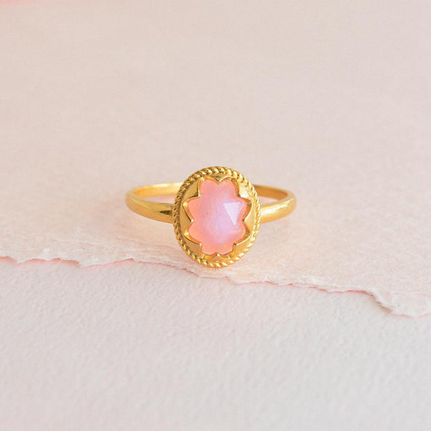 Bague Bella - Or  / Rose - Bijoux Majolie