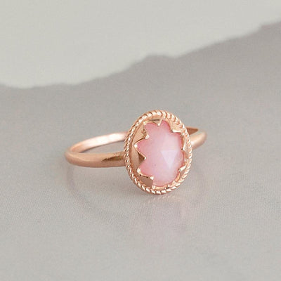 Bague Bella - Or Rose / Rose - Bijoux Majolie
