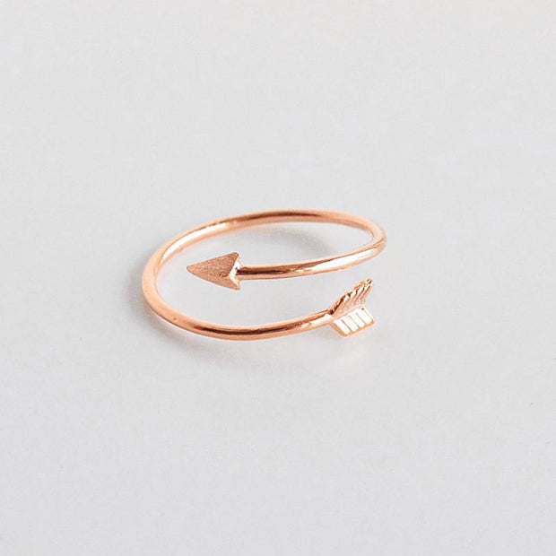 Bague Fleche - Or Rose