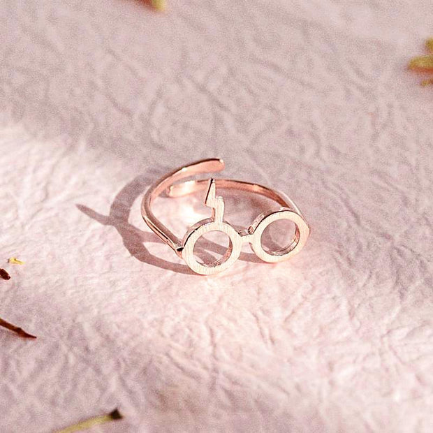 Bague Harry Potter - Or Rose - Bijoux Majolie