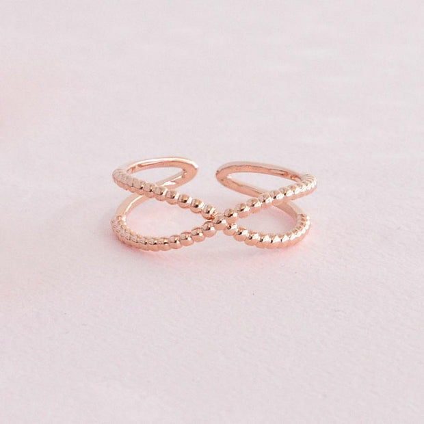 Bague Isla - Or Rose
