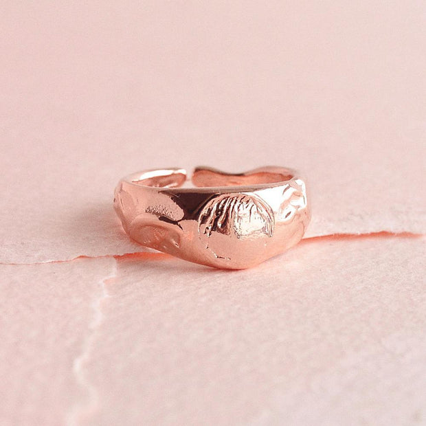 Bague Louisa - Or Rose - Majolie