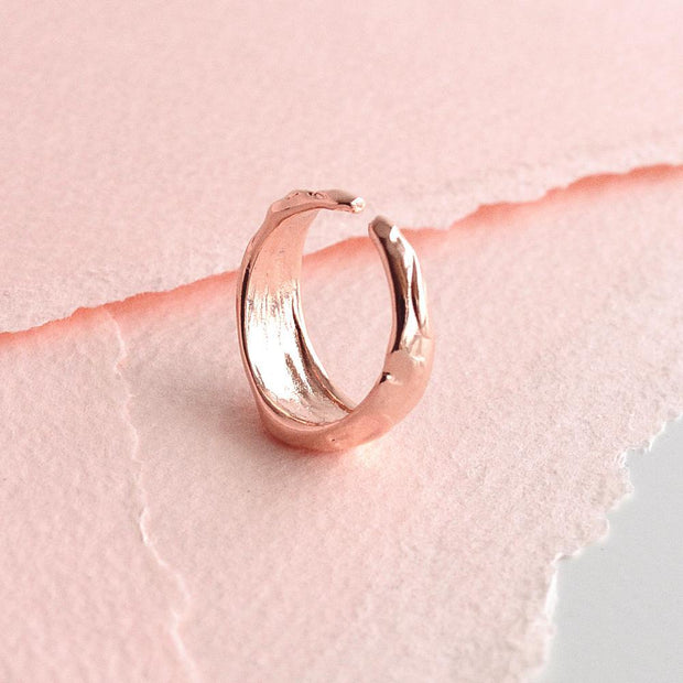 Bague Louisa - Or Rose - Bijoux Majolie