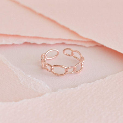 Bague Mara - Or Rose