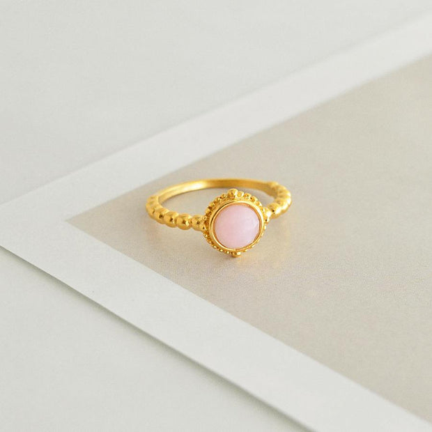 Bague Nora - Or / Rose