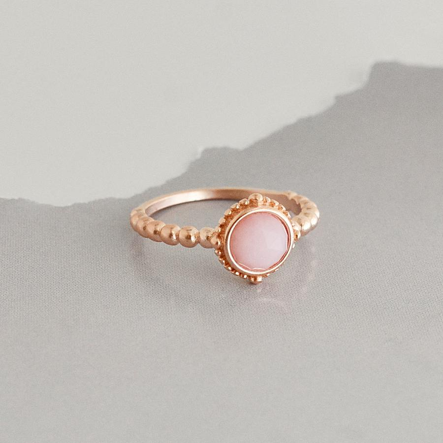Bague Nora - Or Rose / Rose