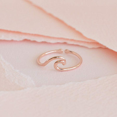 Bague Pyla - Or Rose