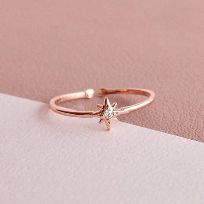 Bague Stella - Or Rose