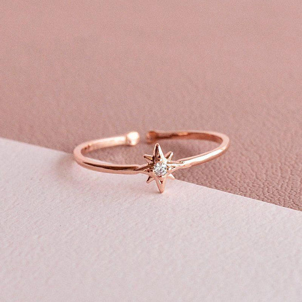 Bague Stella - Or Rose - Majolie