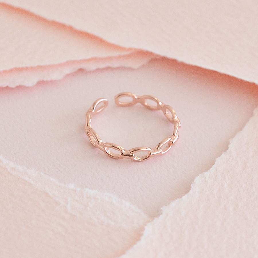 Bague Yva - Or Rose