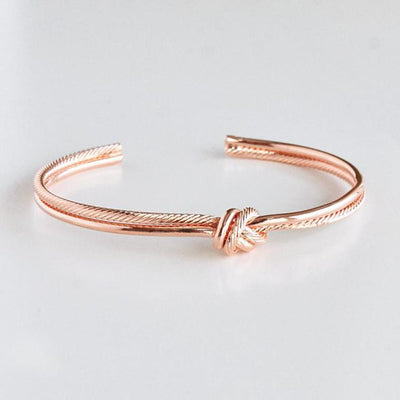 Bracelet Corde - Or Rose