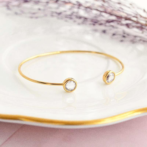 Bangle Liya - Plaqué Or 18K