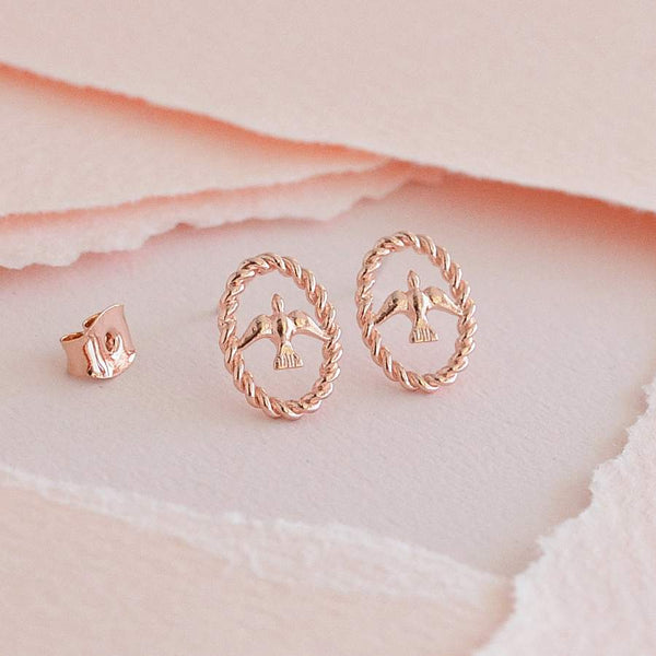 Boucles Dova - Or Rose