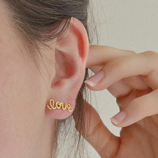 Boucles Love - Or