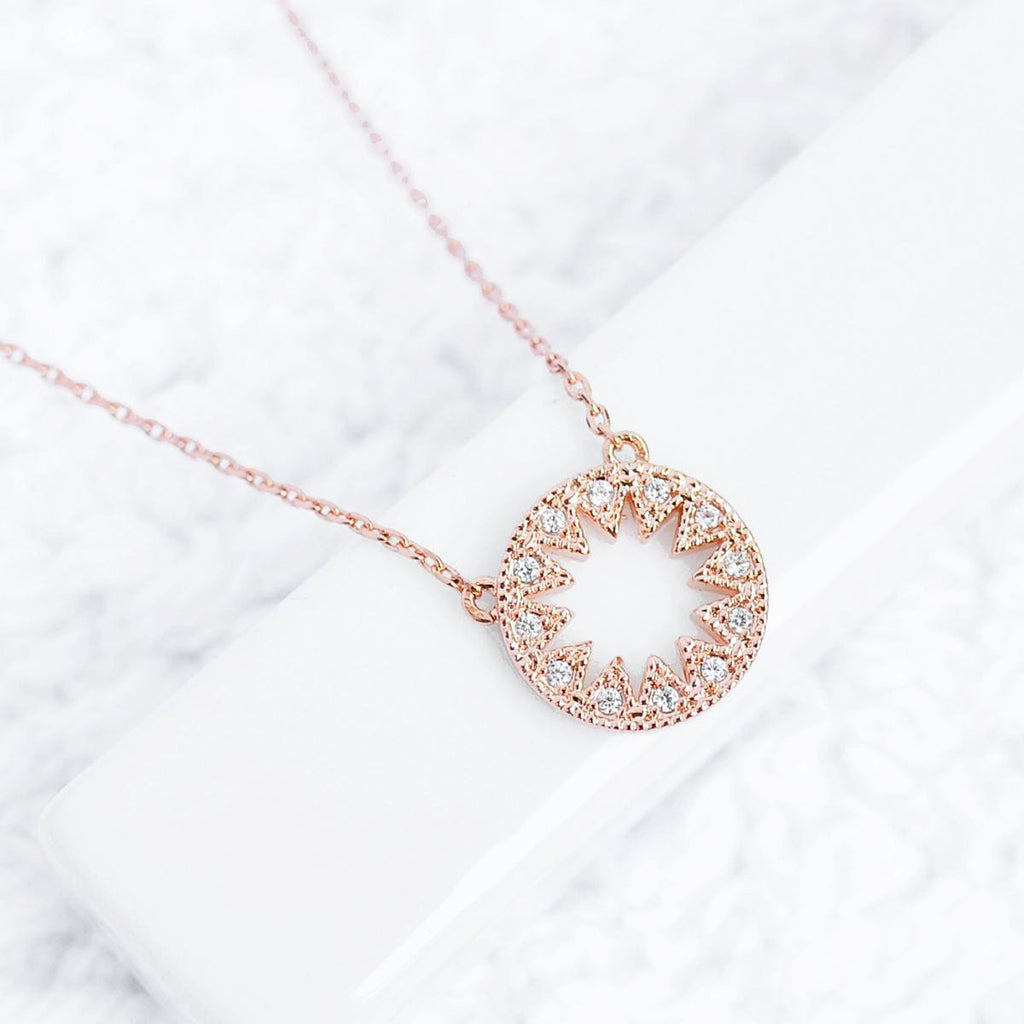 Collier Paloma - Or Rose