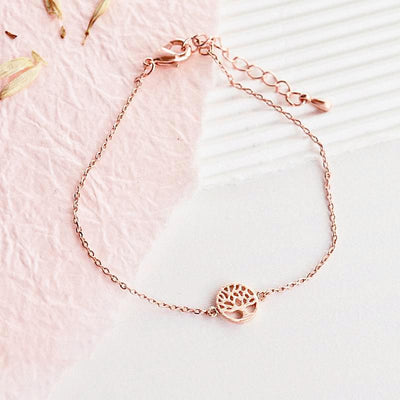 Bracelet Arbre de Vie - Or Rose