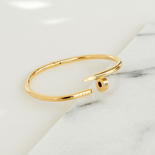 Bangle Clou - Or - Bijoux Majolie